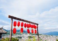 Lijiang dach Fotografia Royalty Free