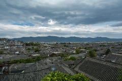 Lijiang-Dachansicht lizenzfreie stockfotos