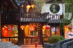 Lijiang Dayan old town at night . Stock Photos