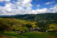 lijiang del shangrila, Yunnan, China Imagen de archivo