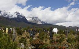 Lijiang dongba cultural park royalty free stock photography