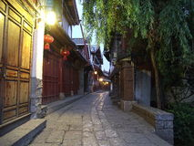 Lijiang early morning 5 am Royalty Free Stock Photography