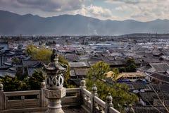 Lijiang Horizan from Mu Palace Royalty Free Stock Photo