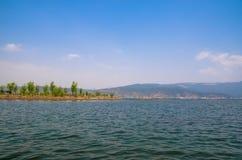 Lijiang Lashi湖沼泽地是一个全国自然风景点在市丽江附近,中国 库存图片