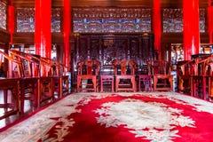 Lijiang MU alloggia la vista interna Fotografia Stock Libera da Diritti