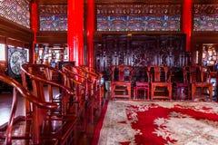 Lijiang Mu House interior view Royalty Free Stock Photo