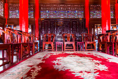 Lijiang Mu House interior view Royalty Free Stock Photography