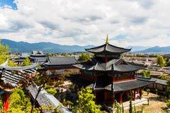Lijiang MU logent Photographie stock libre de droits