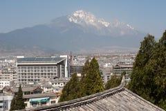 Lijiang new town. Royalty Free Stock Photos