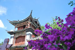 Lijiang old town. View of a building in Lijiang old town, China Stock Photography