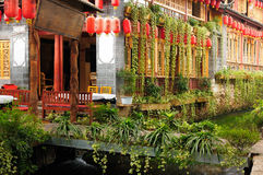 Lijiang Old Town in China Stock Photo