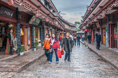 Lijiang old town Royalty Free Stock Images