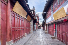 Lijiang old town in the morning , Yunnan ,China Royalty Free Stock Image