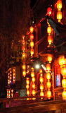 Lijiang old town at nightr Stock Photos