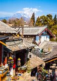 Lijiang old town streets Stock Photography