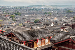 Lijiang old town. The UNESCO world heritage in Yunnan province, China stock images