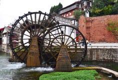 Lijiang, oude stad Stock Afbeelding