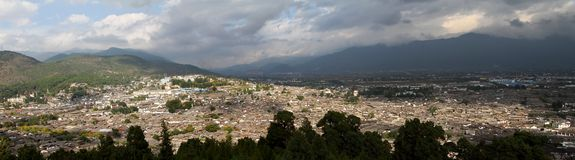 Lijiang panorama Royalty Free Stock Images