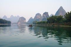 Lijiang river Royalty Free Stock Photo