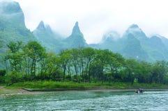 Lijiang River i Guilin Royaltyfri Foto