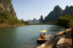 Lijiang river landscape Stock Photos