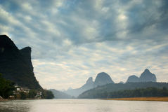 Lijiang river in morning Stock Images