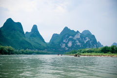 Lijiang river scenery Stock Photos
