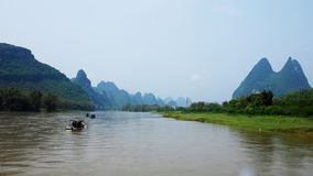 The lijiang river scenery Royalty Free Stock Photography