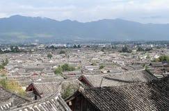 Lijiang roof Stock Photography