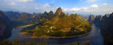Lijiang rzeki sceneria Zdjęcia Stock