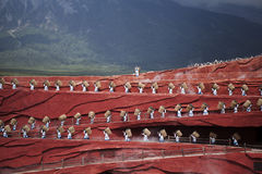 Lijiang shows. The impression of Lijiang shows Royalty Free Stock Images