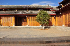 Lijiang traditional house. Yunnan, China Royalty Free Stock Image