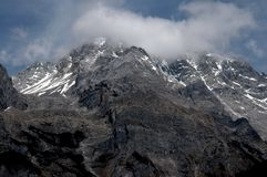 Lijiang Twp, China: Jade Dragon Snow Mountain Royalty Free Stock Images