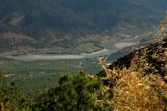 Lijiang Twp, China: Yangtze River Valley Stock Image
