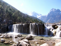 Lijiang Yulong Berg Stockbilder