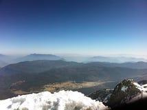 Lijiang Yulong Mountain Royalty Free Stock Photography