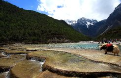 Lijiang, Yunnan, Κίνα Στοκ φωτογραφίες με δικαίωμα ελεύθερης χρήσης