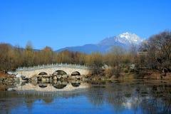 Lijiang Yunnan, Kina Royaltyfria Bilder