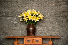 Lijiang, Yunnan kwiatu siedziby sala Zdjęcia Stock