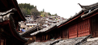 Lijiang in yunnan province Stock Photos