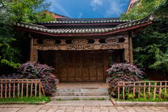 Lijiang, Yunnan Shuhe Ancient Town Street Royalty Free Stock Photography