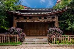 Lijiang, Yunnan Shuhe Antycznego miasteczka ulica Fotografia Royalty Free