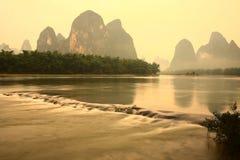 Lijiangrivier, Guilin Royalty-vrije Stock Fotografie