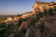Lijiashan Hobitton в Китае Стоковое Фото