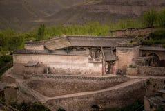 Lijiashan Hobitton в Китае Стоковое Изображение