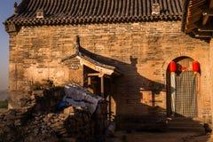 Lijiashan Hobitton in China stockbild