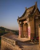 Lijiashan Hobitton in China stockfotos