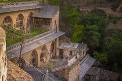 Lijiashan Hobitton in China lizenzfreies stockbild