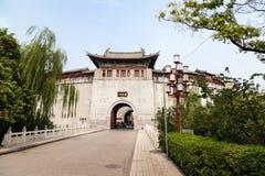 Lijing port, Luoyang, Kina Fotografering för Bildbyråer