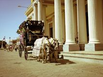 Lijkwagen in Granarda Nicaragua royalty-vrije stock fotografie